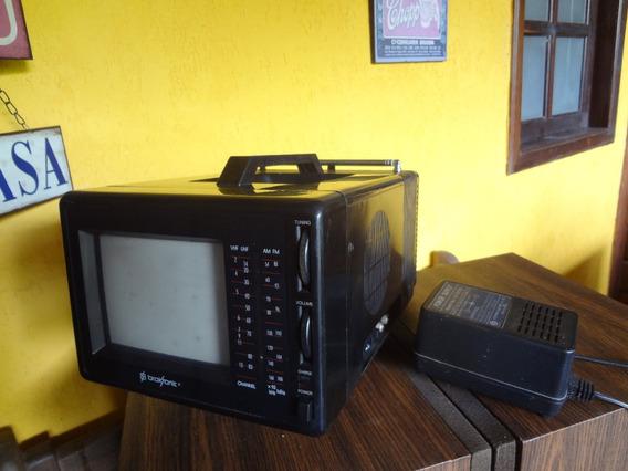 Mini Tv Portátil Cores 5 Broksonic- Com Defeito !!!