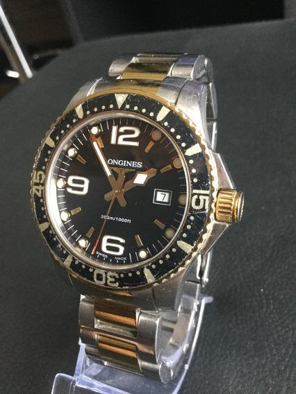 Relógio Longines Hydroconquest Dois Tons Quartz