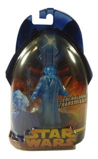 Figura Star Wars Jedi Hologram Transmission Revenge Of Sith