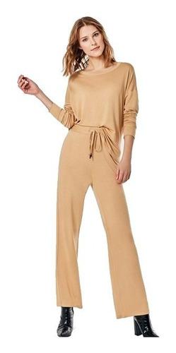 Pantalon Mujer Babucha Liviano Verano Kosiuko Sand Camell