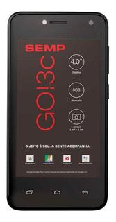 Smartphone Semp Go 3c 4018 Android 8.0 Oreo 8gb Preto