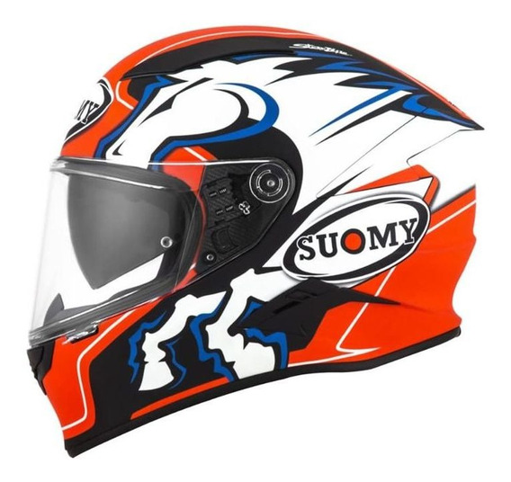 Capacete Suomy Speedstar Zerofour Fosco Rs1