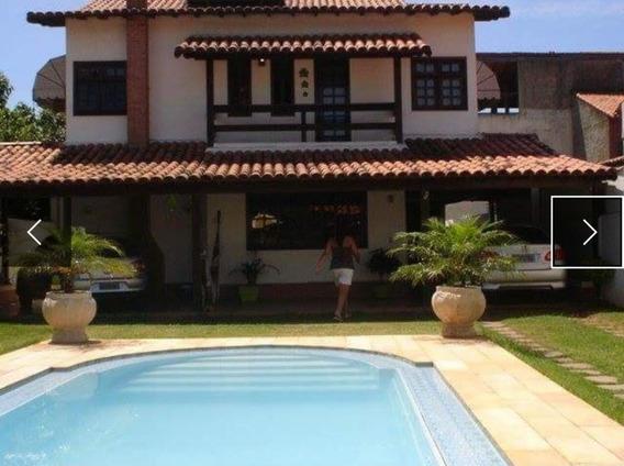 Casa Em Itaipuaçu, 3 Quartos, Piscina E Churrasqueira - 447