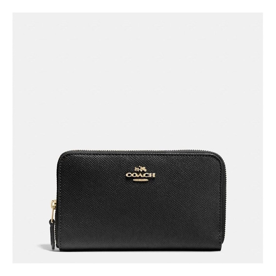 Carteira Coach Medium Zip Around Coach