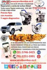 Turbo Diesel Toyota Land Criuser 3.0 1kz-t Ct12b Guatemala