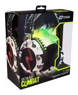 Auriculares Headset Gamer Noga Combat 7.1 Pc Ps4 Led