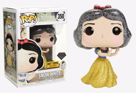 Funko Pop Snow White Diamond - Branca De Neve Com Glitter
