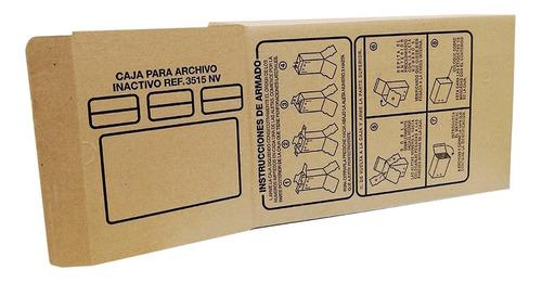 Imagen 1 de 4 de Caja Para Archivo Inactivo X-200 Nº 12 Minerva.