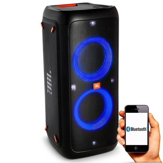 Caixa Amplificada Jbl Party Box 300 1500w Churrasco Usb