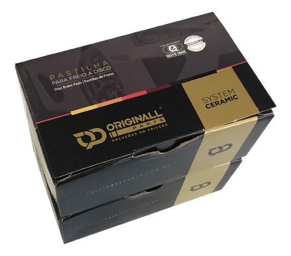 Kit Pastilha Freio Diant Tras Sens Mercedes C180 C200 15/...
