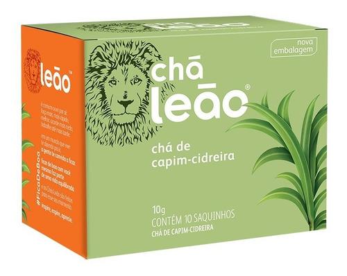 Chá Leão Ervas - Capim-cidreira - 10 Sachês