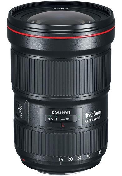 Lente Canon Ef 16-35mm F/2.8 Liii Usm 12 Meses De Garantia