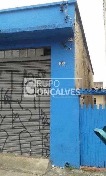 Terreno Para Venda No Bairro Tatuapé, Com Salão E Casa De 2 Dorm. - 4117