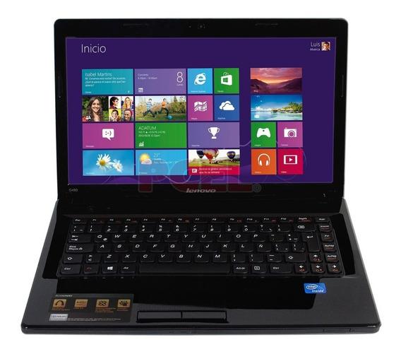 Laptop Lenovo G480 Intel Celeron 500gb Dis. 2gbm Ram 1.80ghz
