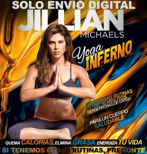 Jillian Michaels Yoga Inferno Ejercicios Fitness Sin Pesas