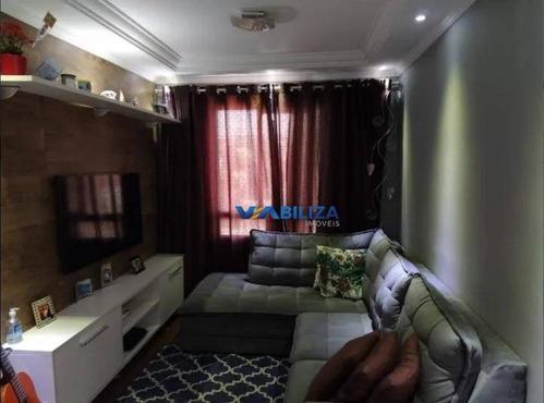 Apartamento Com 2 Dormitórios À Venda, 49 M² Por R$ 275.600 - Centro - Guarulhos/sp - Ap3815