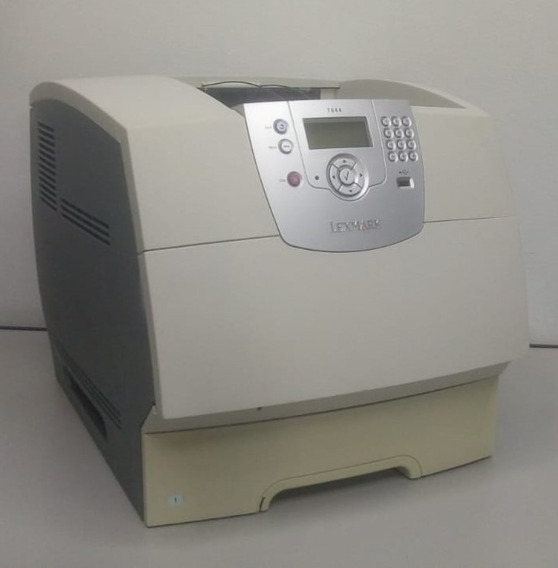 Impressora Lexmark T644 Com Toner, Revisada Com Garantia
