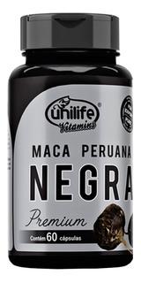 Maca Peruana Negra Premium 60 Cápsulas Unilife