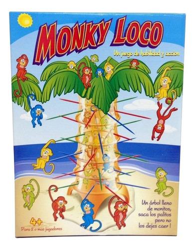 Imagen 1 de 6 de Juego de mesa Monky Loco Ditoys