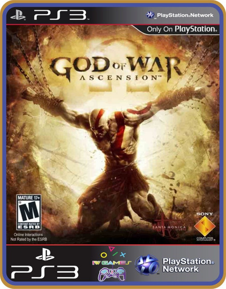 God Of War Ascension -ps3- Mídia Digital-jogo Completo