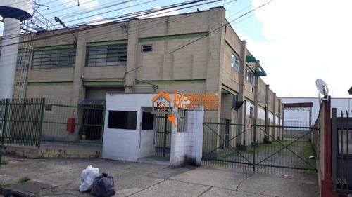 Imagem 1 de 18 de Galpão Para Alugar, 1292 M² Por R$ 18.000,00/mês - Jardim Cumbica - Guarulhos/sp - Ga0025