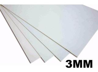 Lamina De Pvc Espuma Color Blanco Medidas 122x244 3mm