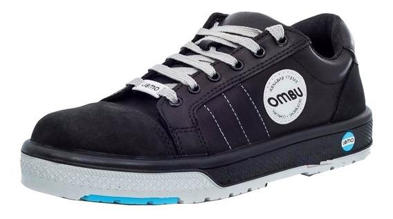 Zapato/zapatilla Con Puntera De Acero Ombu Sneaker