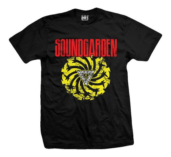 Remera Soundgarden Badmotorfinger