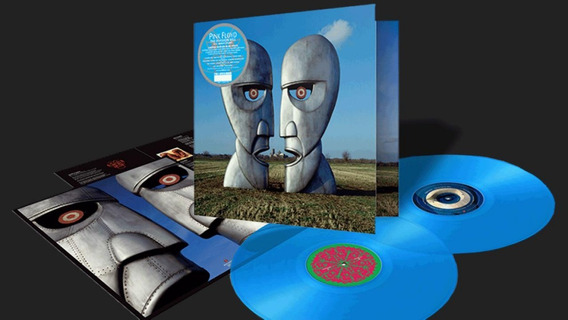 Pink Floyd Lp The Division Bell Vinil Color Azul Blue 2019