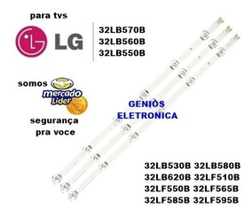 Barra Led Tv Lg 32lb560 32lb5600 32lb570 32lb550 32lb620 Kit