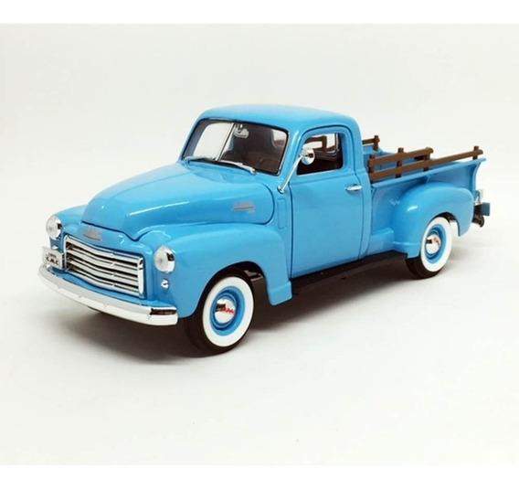 Miniatura Carro Gmc Pick Up 1950 Azul 1:18 Yat Ming 92648