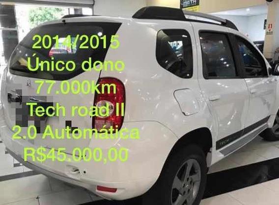 Renault Duster 2.0 16v Techroad Ii Hi-flex Aut. 5p 2014