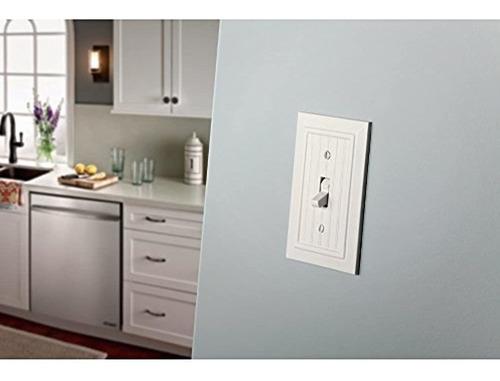 Placa De Pared Clásica Simple Cubierta Para Interruptor