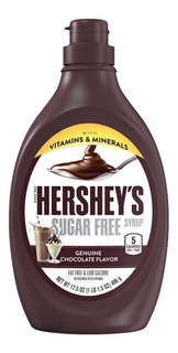 Jarabe De Chocolate Libre De Azúcar Hershey