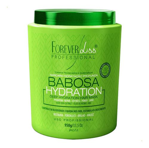 Mascara Babosa Forever Liss Maciez Hidratação Profunda 950g