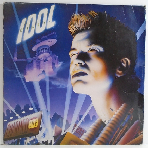 Billy Idol 1990 Charmed Life Lp L.a. Woman / The Loveless
