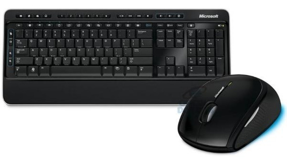 Kit Teclado E Mouse Sem Fio Microsoft 850