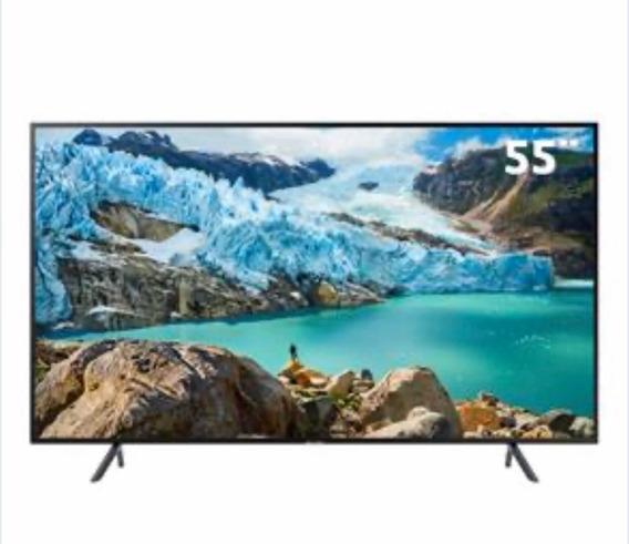 Smart Tv Samsung Ru7100 (tela Quebrada) Retirar Peças