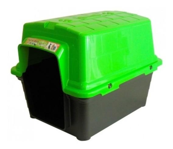 Casinha Para Pet De Plástico N°4 Furacão Pet Verde