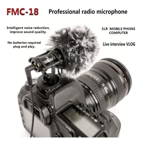 Fd Fmc-18 Dslr Microfone Com Fio Para Câmera - Similar Rode