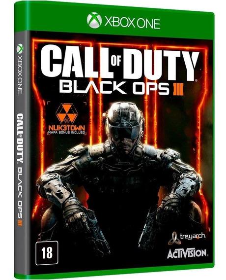 Call Of Duty Black Ops 3 Nuk3town Xbox One Mídia Física Nf