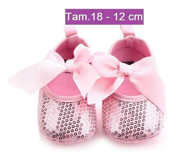Sapato Infantil Bebê Menina