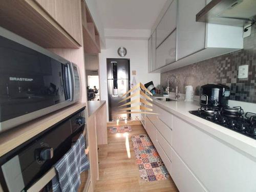 Apartamento Class Vila Augusta  3 Dormitórios 2 Suites  À Venda, 94 M² Por R$ 680.000 - Vila Augusta - Guarulhos/sp - Ap1078