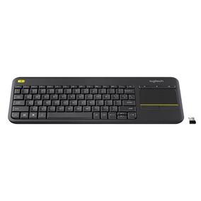 Teclado Logitech Plus Wireless Com Touchpad K400