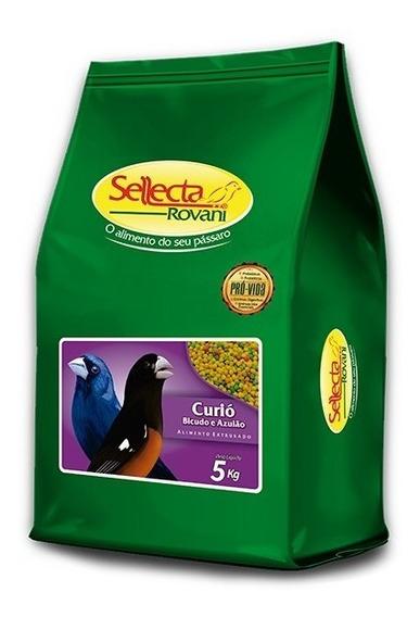 Sellecta Curió, Bicudo E Azulão 5kg (bolinha Colorida)