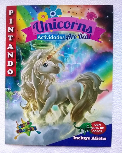 Unicornio Pony Libros Colorear Piñata Sorpresa Infantil