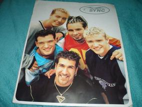 Nsync No Stopping Us Now Tour 1999 Tourbook Autografado Top