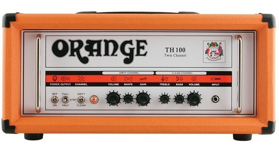 Amplificador Orange Th 100 / Marshall Fender Peavey Laney