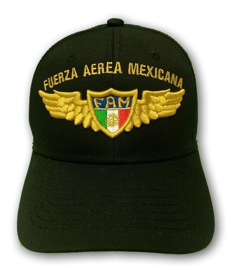 Gorra Bordada Fam Fuerza Aérea Mexicana Conmemorativa