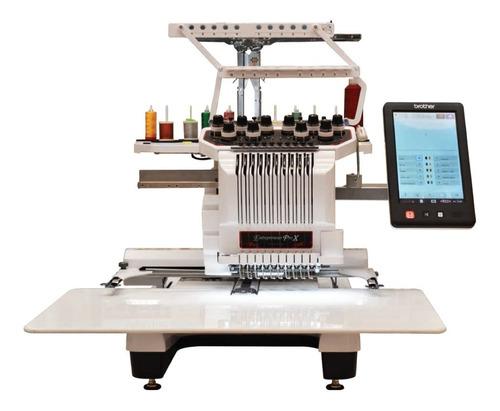 Bordadora Brother Semi Industrial De 10 Agujas Pro Pr1050x